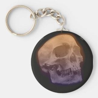 ゴシックのスカルの頭部Keychain キーホルダー