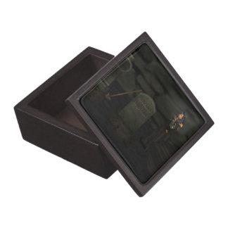 ゴシックの墓地の記念品箱 ギフトボックス
