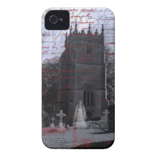 ゴシックの幽霊のよく出るな墓地のiPhoneの穹窖 Case-Mate iPhone 4 ケース