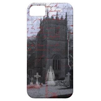 ゴシックの幽霊のよく出るな墓地のiPhoneの穹窖 iPhone SE/5/5s ケース