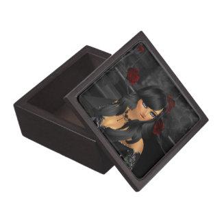 ゴシックの日本製アニメの記念品箱 ギフトボックス