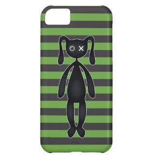 ゴシックの緑および黒いバニー iPhone5Cケース
