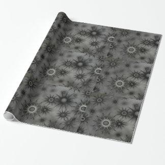 ゴシックの雪片の包装紙 ラッピングペーパー