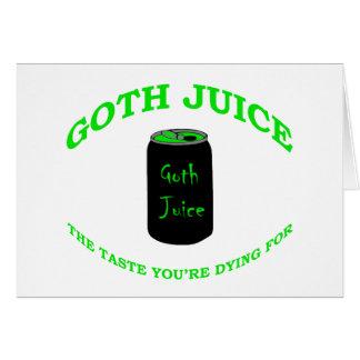ゴシックジュース カード