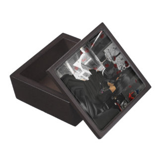 ゴシック場面記念品箱 ギフトボックス