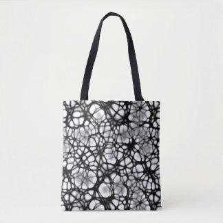 ゴシック様式くもの巣デザイナーショルダー・バッグ トートバッグ