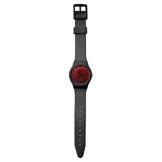 ゴシック様式ばら色のモノグラムB 腕時計