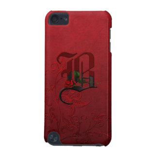ゴシック様式ばら色のモノグラムB iPod TOUCH 5G ケース