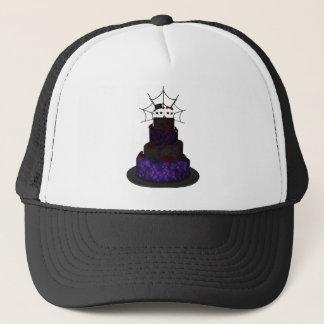ゴシック様式ウエディングケーキが付いている帽子 キャップ