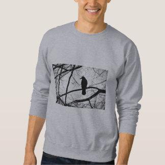 ゴシック様式カラスのスエットシャツ スウェットシャツ