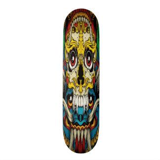 ゴシック様式コラージュのスケートボード スケートボード