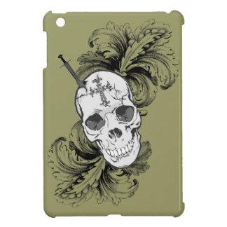 ゴシック様式スカルおよびバロック式のiPadの場合 iPad Mini Case