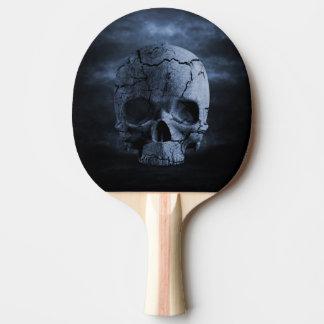 ゴシック様式スカルの卓球ラケット 卓球ラケット