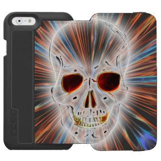 ゴシック様式スカルの恐怖 INCIPIO WATSON™ iPhone 5 財布型ケース
