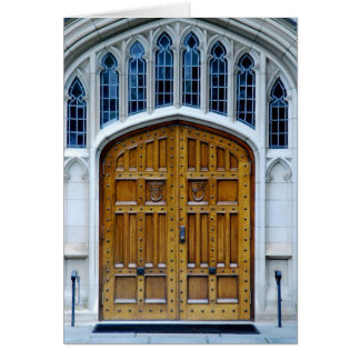 ゴシック様式ドア カード