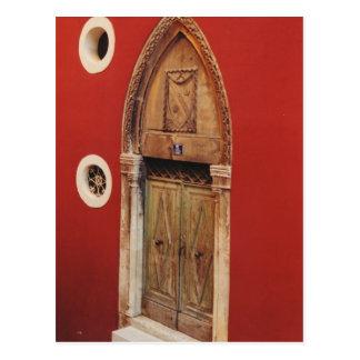 ゴシック様式ドア ポストカード