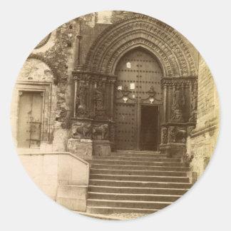 ゴシック様式ドア ラウンドシール