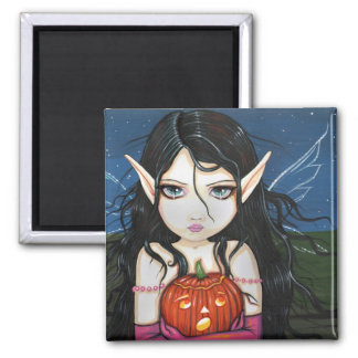 ゴシック様式ハロウィンの妖精の芸術の磁石 マグネット