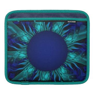 ゴシック様式ヒマワリ iPadスリーブ