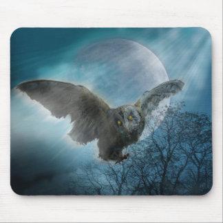 ゴシック様式フクロウのマウスパッド マウスパッド