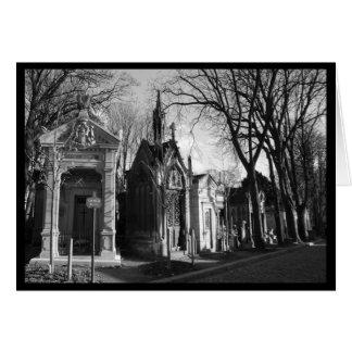 ゴシック様式マウソレウムの墓地カード カード