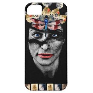 ゴシック様式レトロの顔 iPhone SE/5/5s ケース