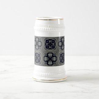 ゴシック様式中世詳しいパターンビールジョッキ ビールジョッキ