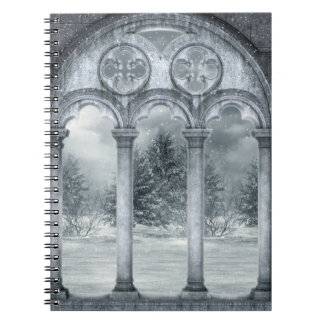ゴシック様式冬の地下ノート ノートブック