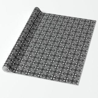 ゴシック様式十字の包装紙 ラッピングペーパー