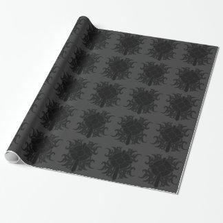 ゴシック様式十字の包装紙 包み紙