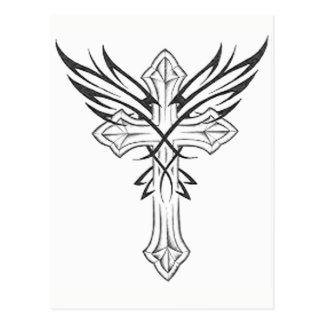 ゴシック様式十字 ポストカード