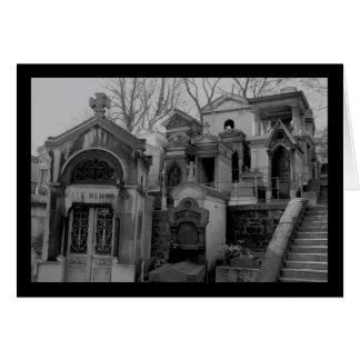ゴシック様式墓地カード カード