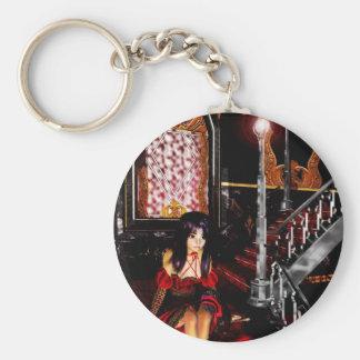 ゴシック様式女の子階段keychain キーホルダー