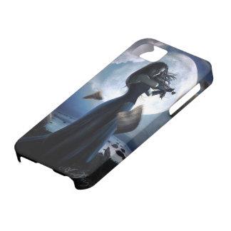 ゴシック様式嵐のバイオリン奏者の青 iPhone SE/5/5s ケース