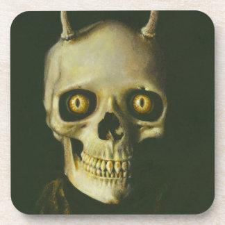 ゴシック様式悪魔のスカルのコースター コースター