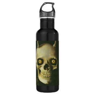 ゴシック様式悪魔のスカル ウォーターボトル