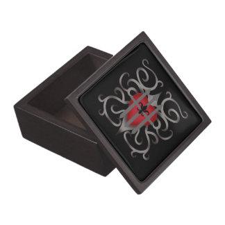 ゴシック様式投獄されたハートのロマンチックなバレンタインデー ギフトボックス