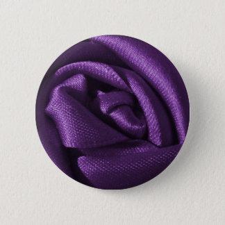 ゴシック様式暗い紫色のバラ 缶バッジ