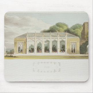 ゴシック様式温室1832年 マウスパッド