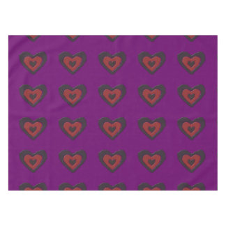 ゴシック様式溶ける愛ハートのテーブルクロス テーブルクロス