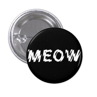 ゴシック様式産業パンクの猫の鳴き声Pin 3.2cm 丸型バッジ