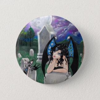 """""""ゴシック様式真夜中の""""ファンタジーの芸術ボタン 5.7CM 丸型バッジ"""