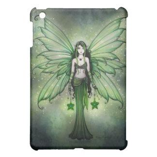 ゴシック様式緑の妖精のiPadの箱 iPad Miniケース