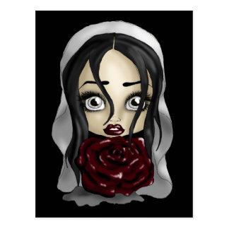 ゴシック様式花嫁 ポストカード
