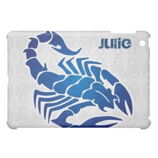 ゴシック様式蠍のファンタジーの包装 iPad MINIケース