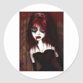 ゴシック様式赤毛の妖精 ラウンドシール