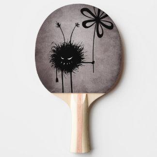 ゴシック様式邪悪な花の虫のヴィンテージ 卓球ラケット