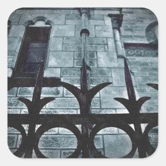 ゴシック様式錬鉄の塀 スクエアシール