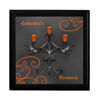 ゴシック様式candelabraハロウィン ギフトボックス