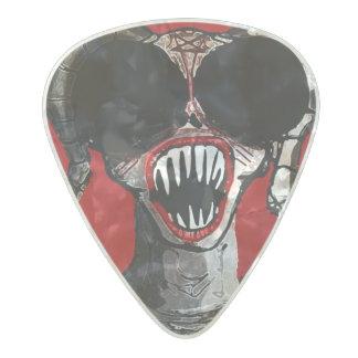 ゴシック様式Satanの鬼の悪のギターピック パールセルロイド ギターピック